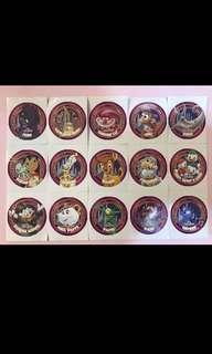 迪士尼貼紙set