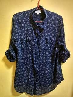 Sheep Cotton On Shirt Button Up Long Sleeve