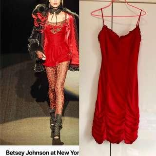 Betsey Johnson red dress
