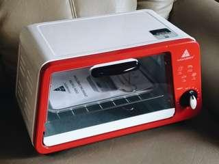 Toaster oven (White & red)