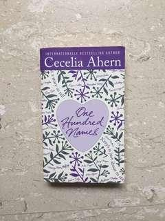One hundred names - Ceceilia Ahern