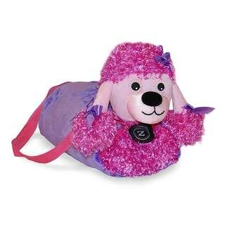 Poodle Duffel Bag with Blanket