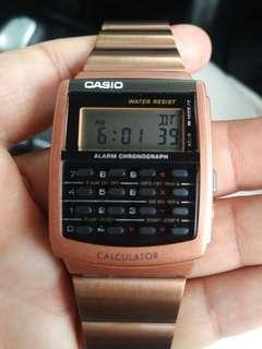 Casio Calculator CA506C Rose Gold