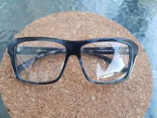PD 850 Jil Sander Eyeglasses JS694s - Black/Marble