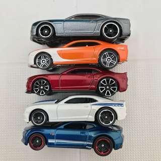 Hot Wheels Camaro Lot (price discounted)