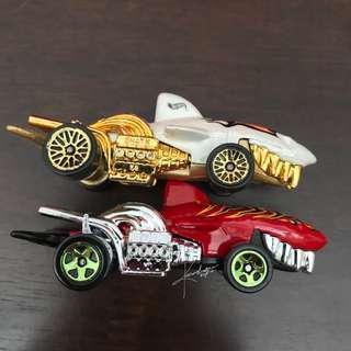 Hot wheels Sharkruiser lot