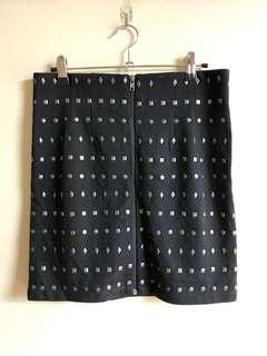 Forever 21 stud skirt NEW