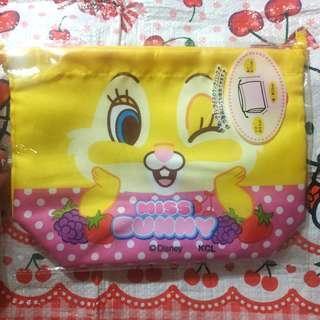 Miss Bunny 布袋 食盒袋 午餐袋 萬用袋 購自日本