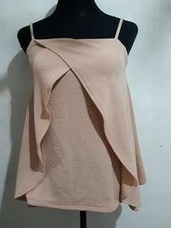 Folded and Hung Sleeveless top