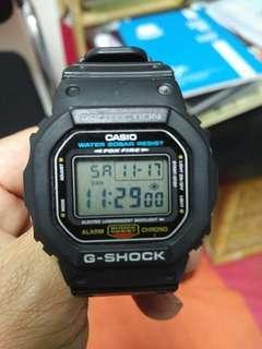 Used Casio G-Shock Dw5600E Petak  FoxFire