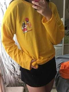 KFC & McDonald yellow tee