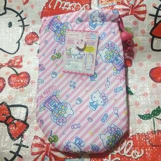 Kitty 水壺袋 水樽袋 保溫袋 500ml 購自日本