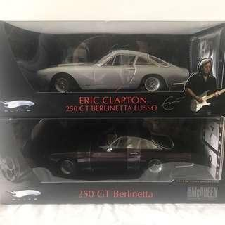 1/18 Hot Wheels Elite Ferrari Eric Clapton