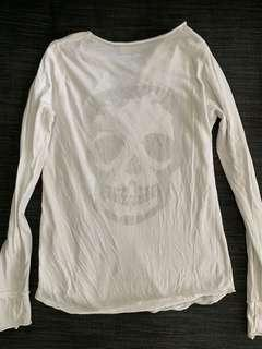 Authentic Zadig & Voltaire Skull Lace TOP