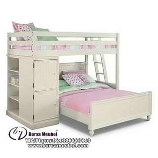Tempat Tidur Anak Tingkat Jepara