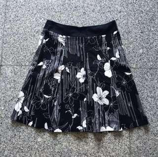 BN floral A-line skirt