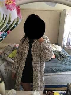 Oversized jacket/button up