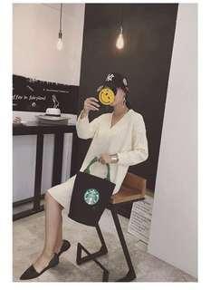 Starbucks bucket bag