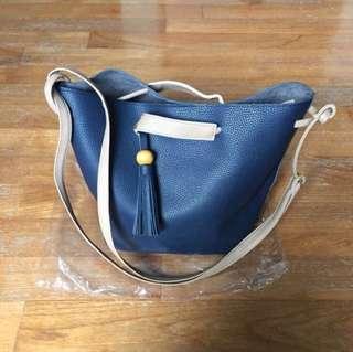BNIP Korean ulzzang sling bucket bag