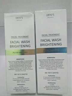 Ertos facial wash
