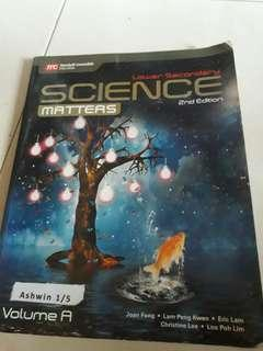 Science lower sec 2nd edition