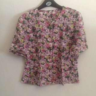 Vintage Flower Top