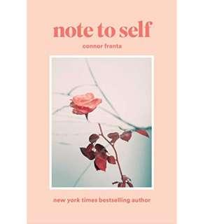 Note To Self by Connor Franta (EBook Non-Fiction)