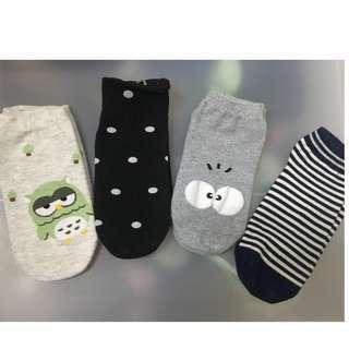 Korean Socks (Get all 4)