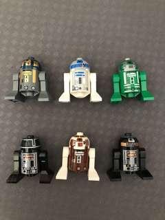 Lego Starwars astromech droids