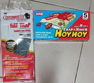 New sealed. Cockroaches trap. Rat trap   ( bought wrongly thought can trap lizard) .😁 1 for $5