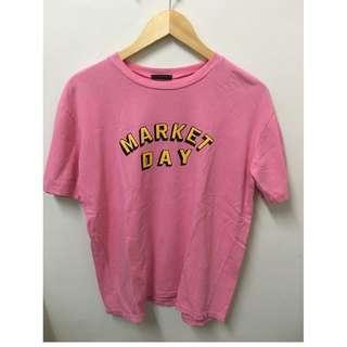 Super Six Pink Oversized Shirt