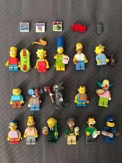 Lego simpsons series 1