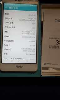 华為榮耀6X金色3x32GB全套99%新