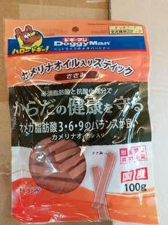 日本Doggyman美毛雞肉條100g