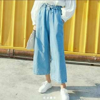 [CLEARING] ulzzang high waisted wide legged jeans