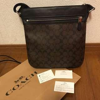 Authentic Coach Sling Bag with receipt