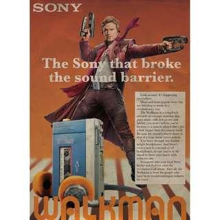 Walkman advertisement posters