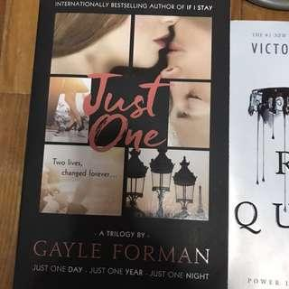 Just One Series by Gale Forman