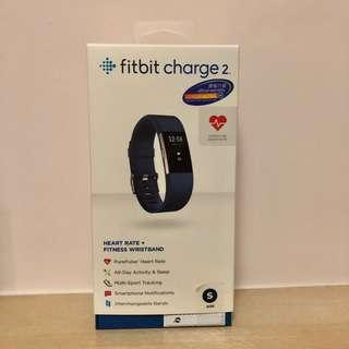 Fitbit Charge 2 (Blue, Small Size)
