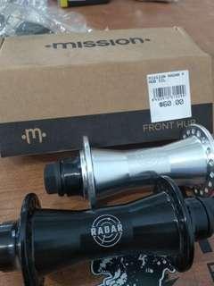 MISSION BMX RADAR FRONT HUB