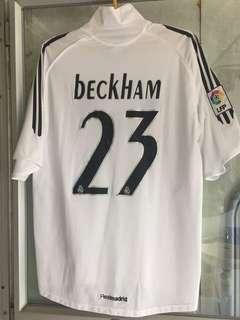 Beckham Manchester Real Madrid England Nike AdidasFootball 碧咸皇馬德里曼聯英格蘭