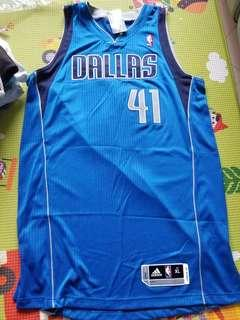 NBA Dirk Nowitzki Authentic Adidas Jersey 球衣