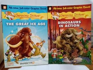 2 Geronimo Stilton Graphic Novels