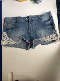 Sixty eight牛仔短褲