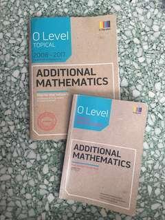 O Level TYS Additional Mathematics