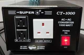 SUPER AC TO AC CONVERTER 1000WATT