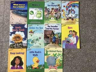 Reading Bees story books