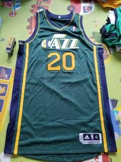 NBA Gordan Hayward authentic JAZZ Adidas Jersey