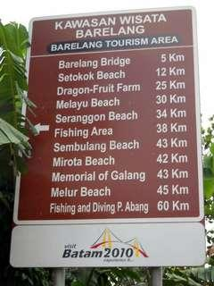 #batamtrip beach for sunset 😍