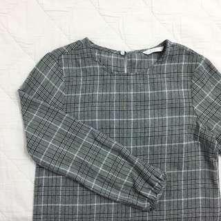 Padini Plaid Top